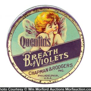 Quentin's Breath Pellets Tin