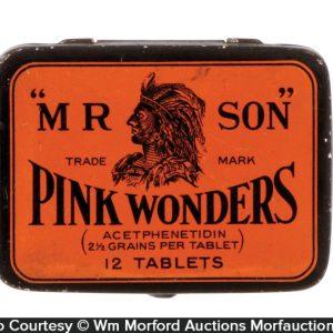 Pink Wonders Medicine Tin