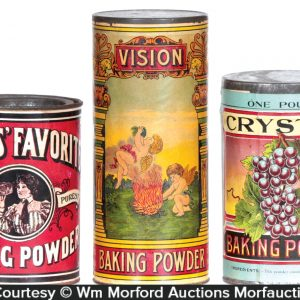 Baking Powder Tins