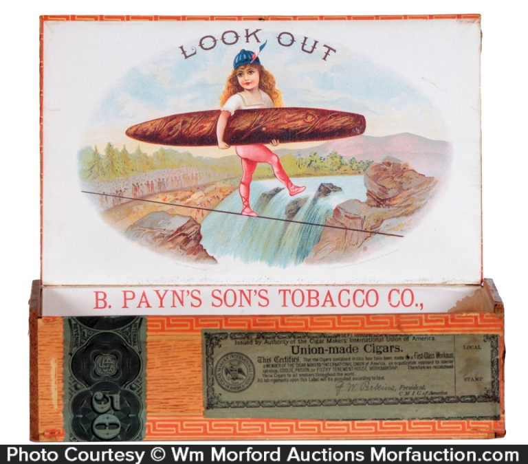 Look Out Cigar Box