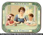 Meyer's Ice Cream Tray
