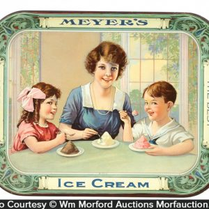 Meyer's Ice Cream Tray