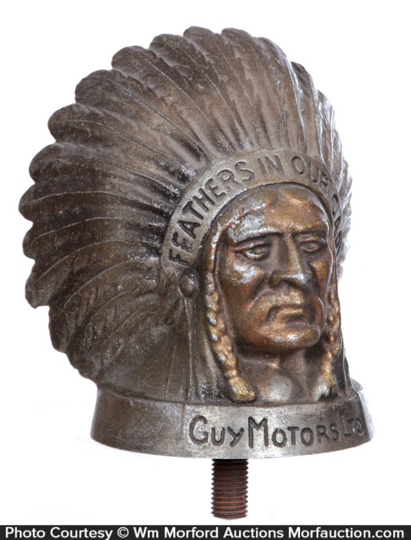Indian Hood Ornament