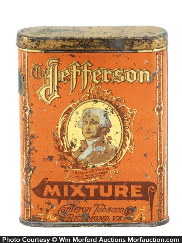 Jefferson Mixture Pocket Tin