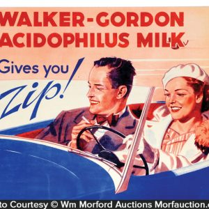 Walker Gordon Milk Signs
