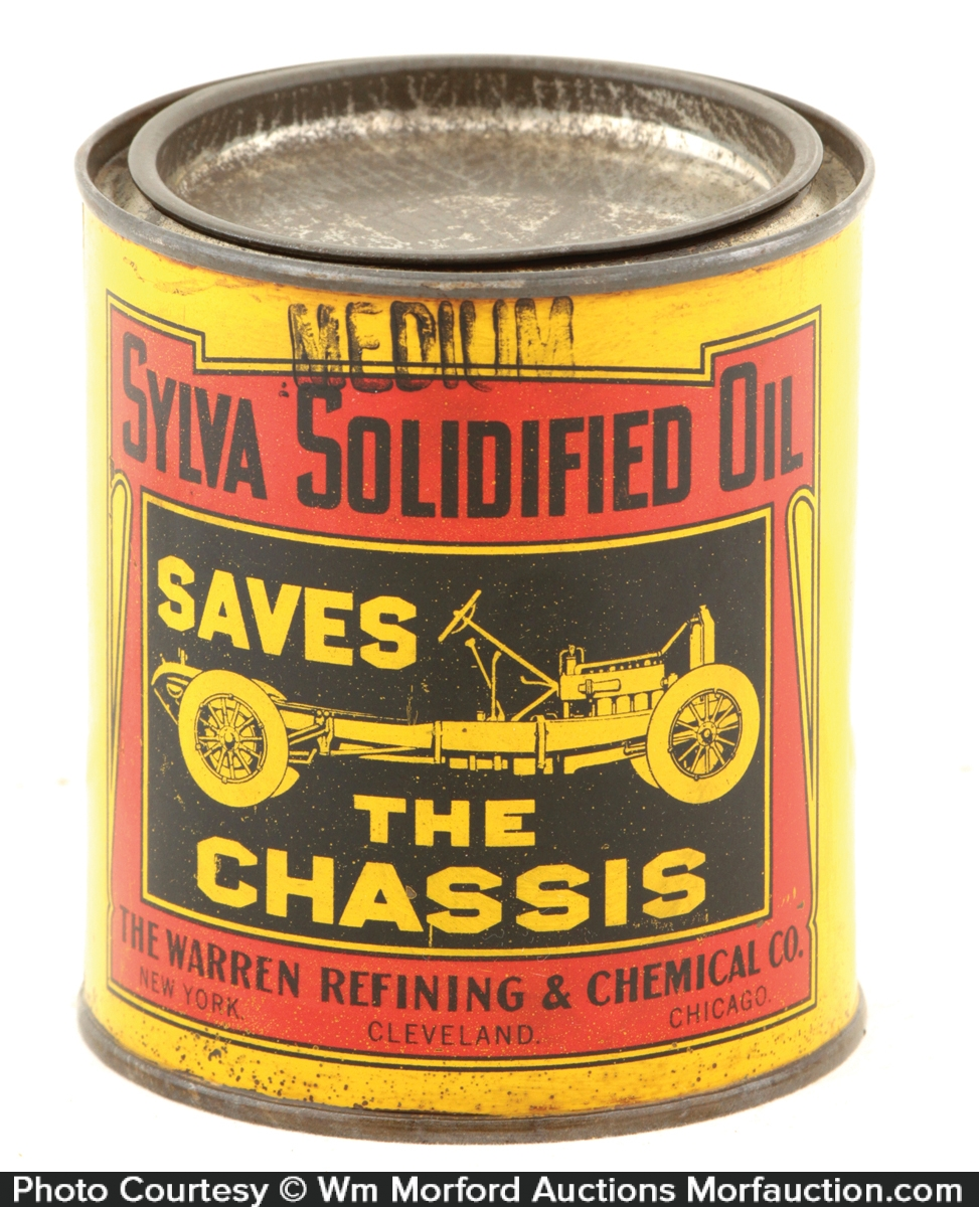 Sylva Grease Can