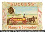 Manure Spreader Tip Tray