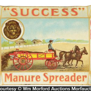 Manure Spreader Tip Tray