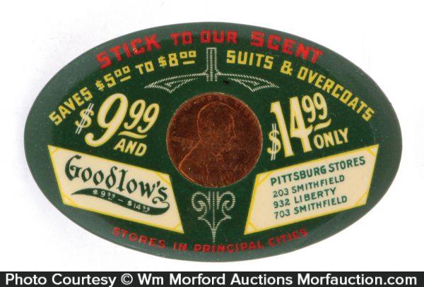 Goodlow's Suits Penny Mirror