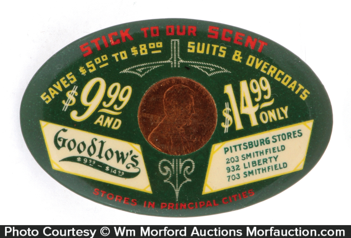 Goodlow's Suits Penny Mirror