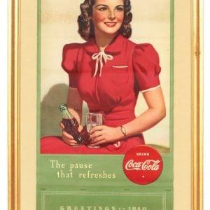 1940 Coca-Cola Calendar