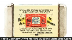 Brewers Union Match Safe