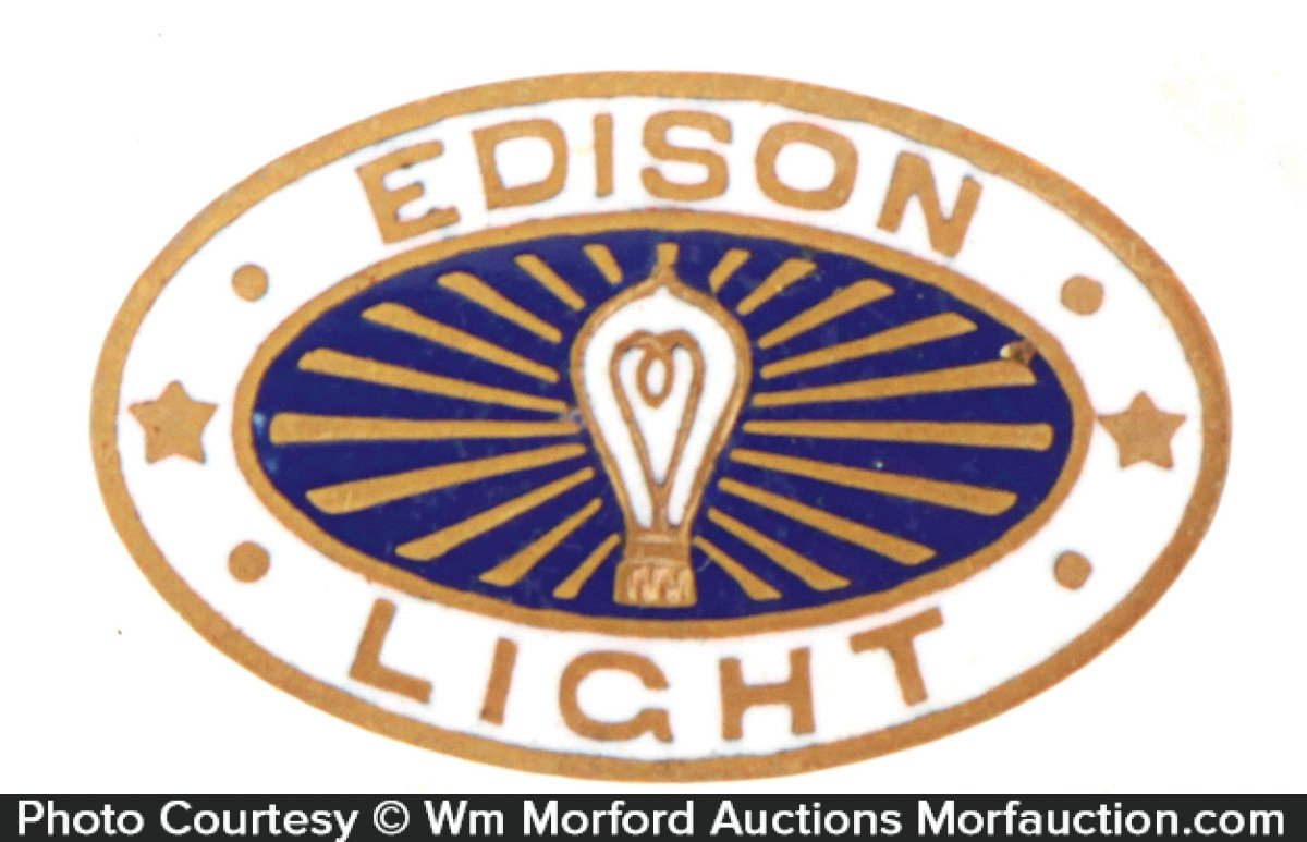 Edison Lights Pin