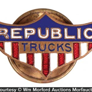 Republic Trucks Lapel Pin