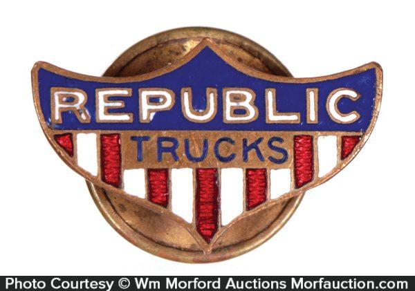 Republic Trucks Lapel Pin