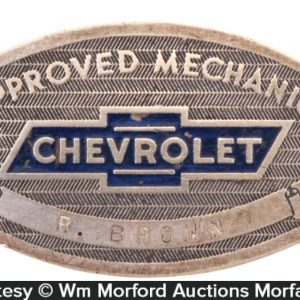 Chevrolet Mechanic Badge