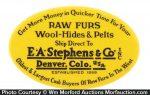 Stephens Furs Knife Stone