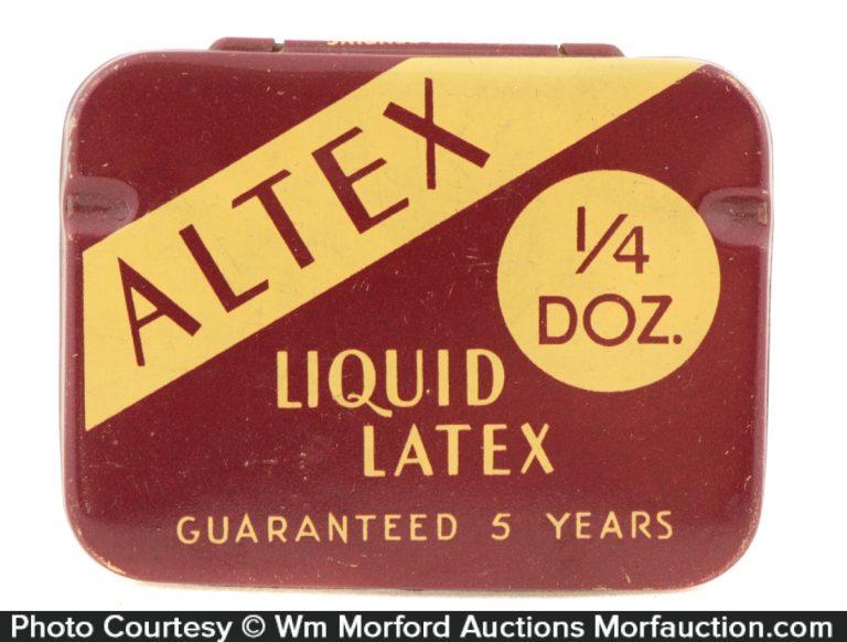 Altex Condom Tin