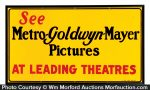 MGM Movies Sign
