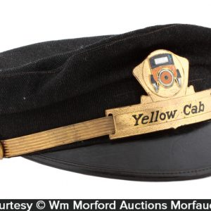 Yellow Cab Taxi Drivers Cap