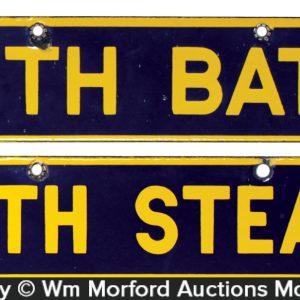 Bath House Signs