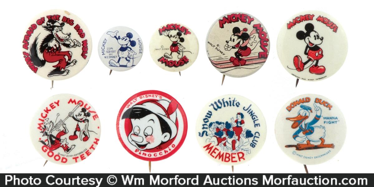 Disney Character Pins