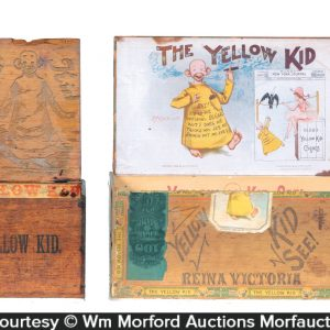 Yellow Kid Cigar Boxes