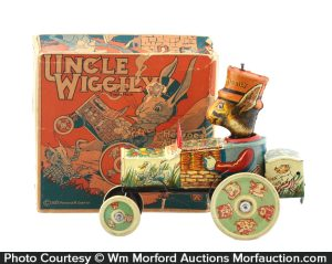 Uncle Wiggily Car Toy