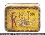 Long Tom Tobacco Tin