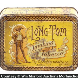 Long Tom Tobacco Tin