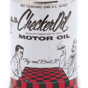 Checker Motor Oil