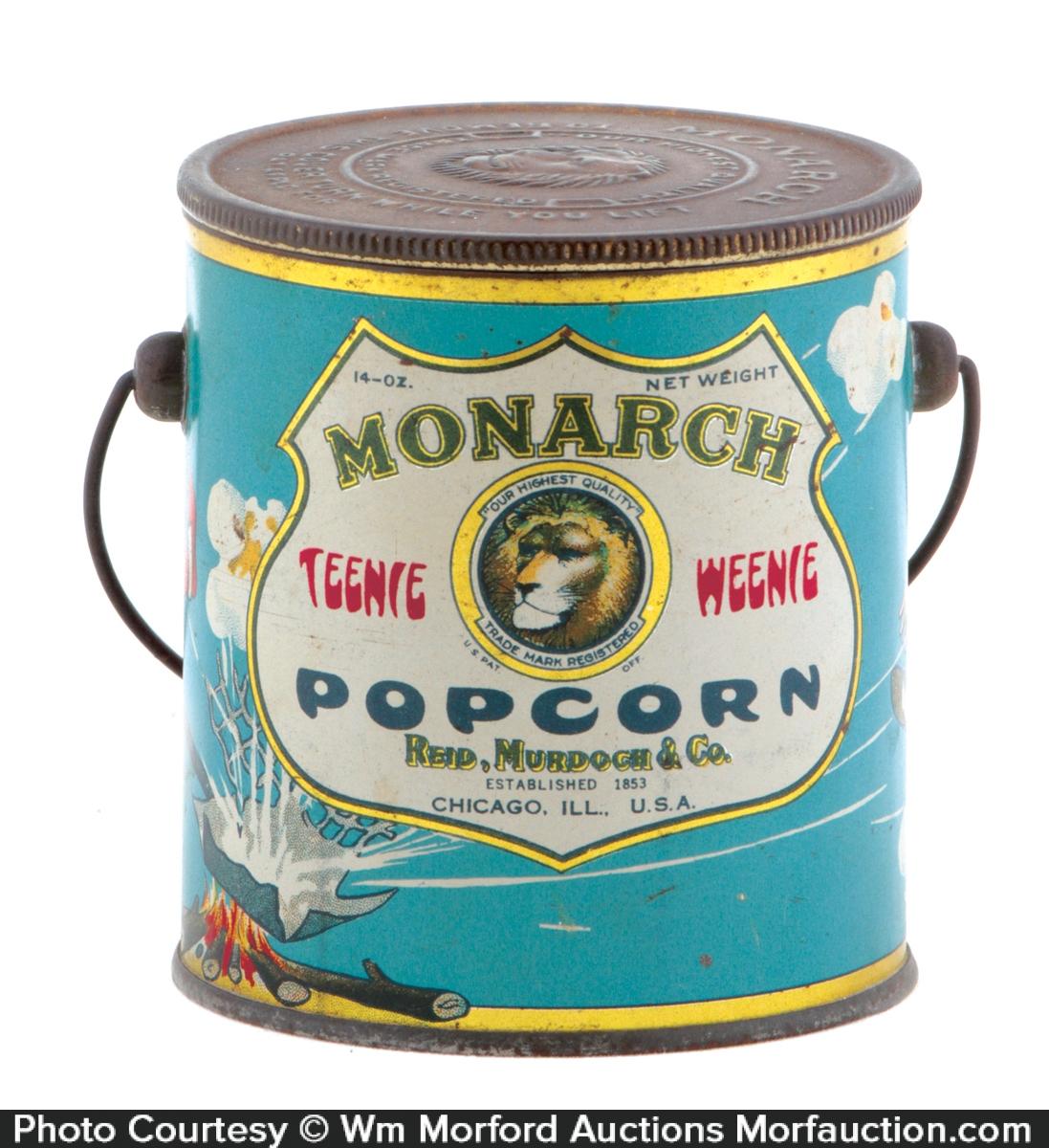 Monarch Popcorn Pail