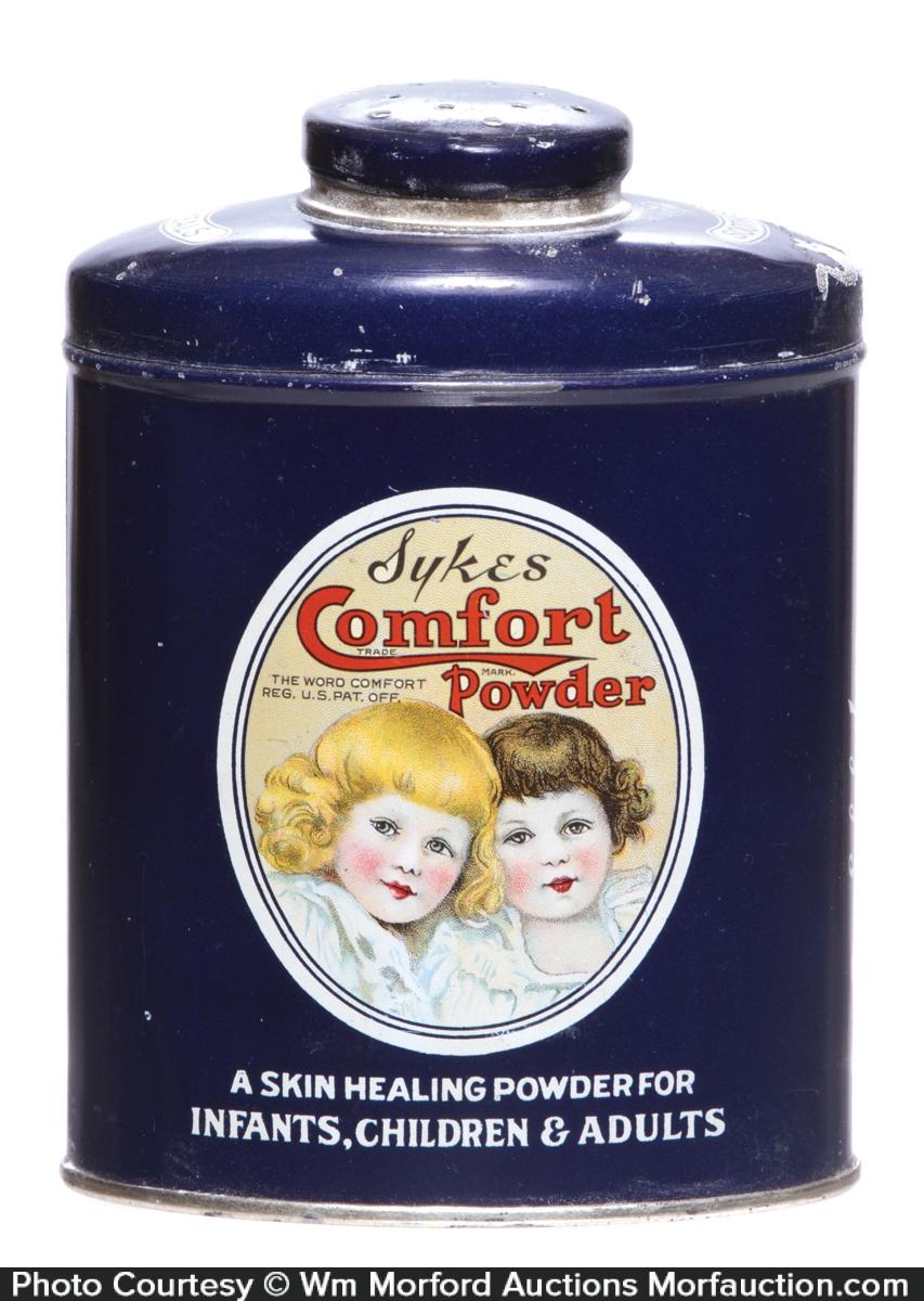 Comfort Talc Tin