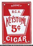 Keystone Cigars Door Push