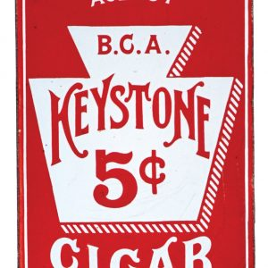 Keystone Cigars Door Push