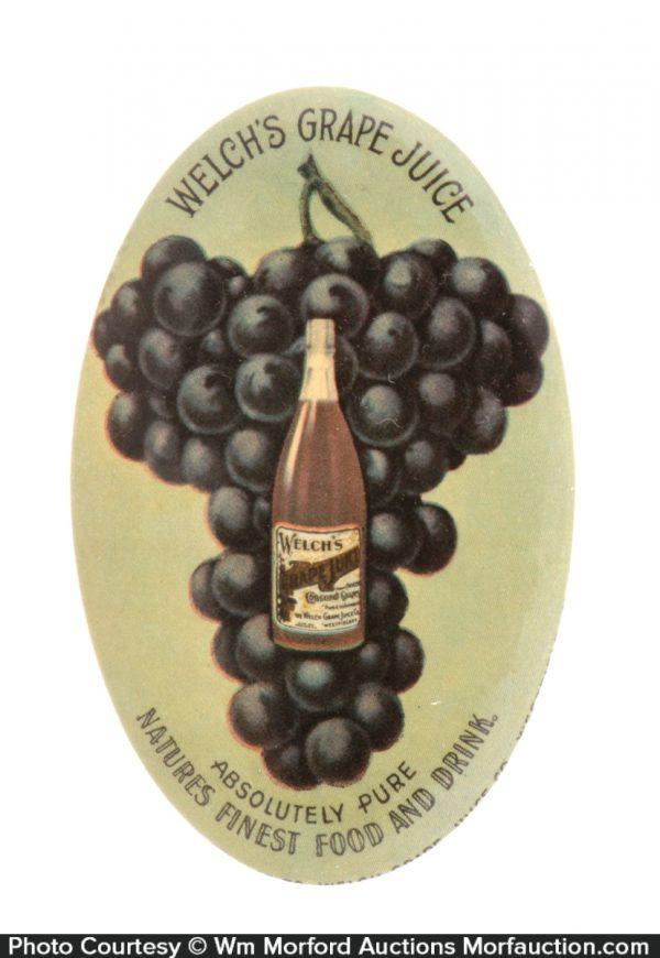 Welch's Grape Juice Mirror