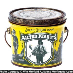 Jackie Coogan Peanuts Pail