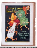 Borden's Healthy Eating Posters