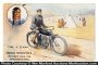 Indian Motorcycle Postcard