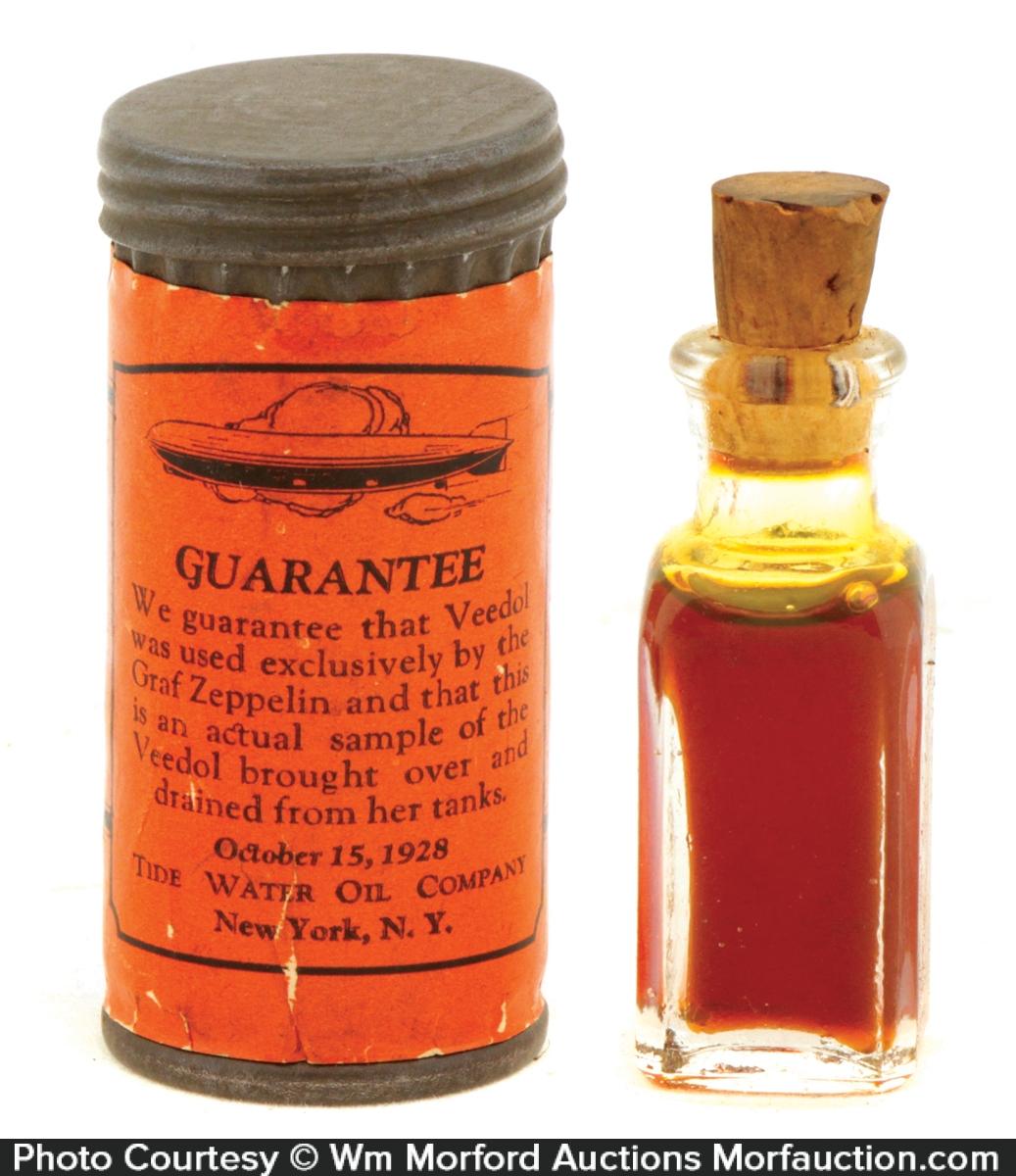 Tydol Zeppelin Oil Sample