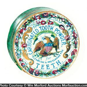 Tooth Powder Container