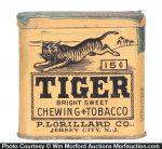 Tiger Pocket Tin