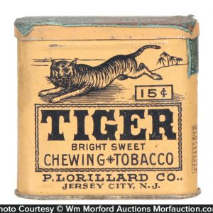 Tiger Pocket Tin