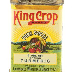 King Crop Spice Tin