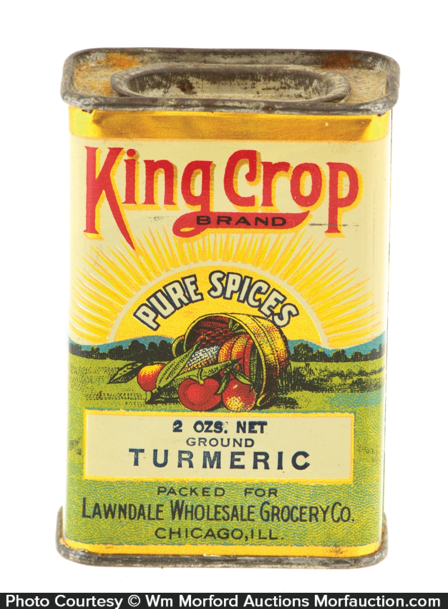 King Crop Spice Tin