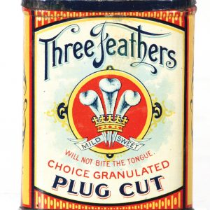Three Feathers Pocket Tin