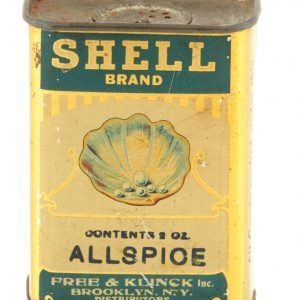 Shell Spice Tin