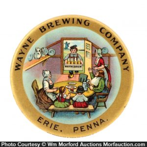 Wayne Brewing Co. Mirror