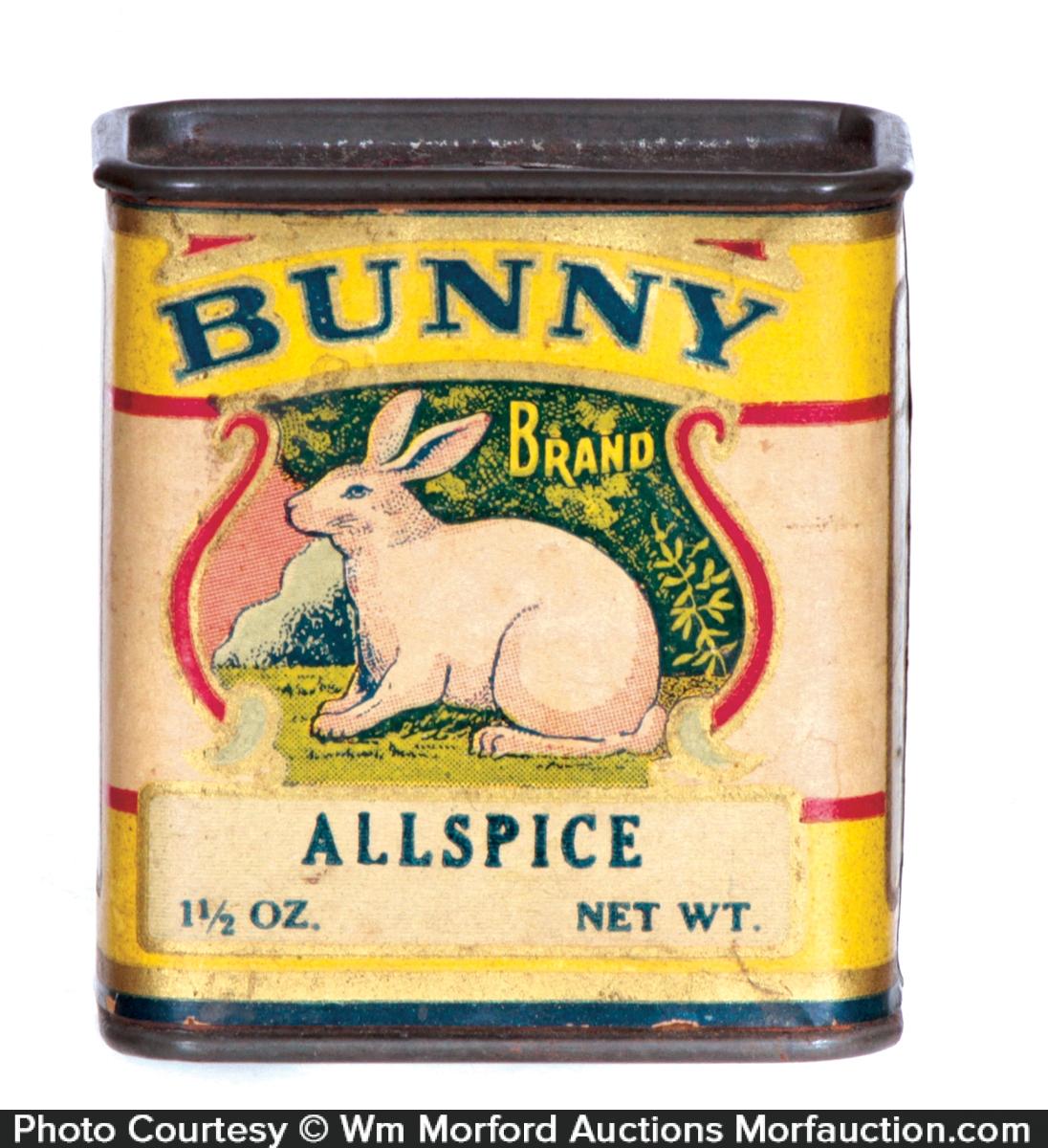 Bunny Spice Tin