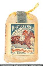 Kentucky's Best Tobacco Pouch